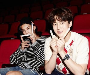 exo, park chanyeol, and suho image