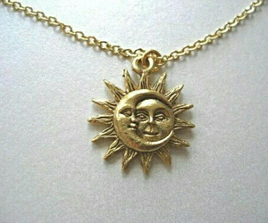 sun, moon, and necklace image