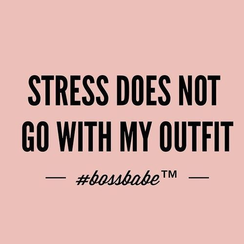 quotes, outfit, and stress image