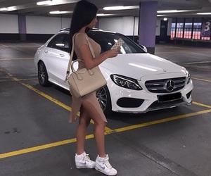 girl, car, and fashion image