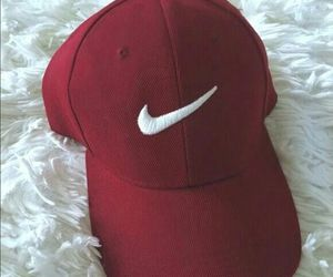nike, red, and cap image