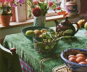 Art Nouveau, breakfast, and style image