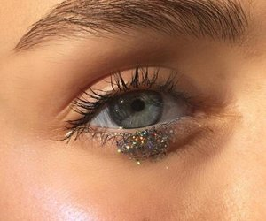 eyes, eye, and glitter image