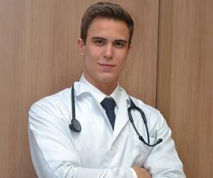 doctor, handsome, and stethoscope image
