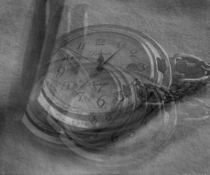 double exposure, minutes, and watches image