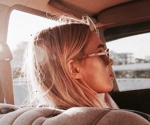 blonde, fashion, and cool image