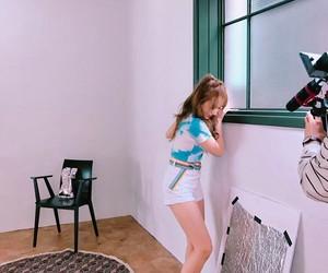korean fashion, long hair, and model image