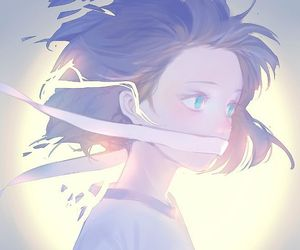 aesthetic, anime girl, and awesome image