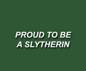 green, slytherin, and draco malfoy image