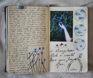 art, blue, and creative image
