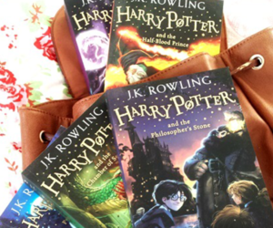 harry potter, read, and reading image