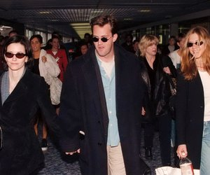 Jennifer Aniston, Matthew Perry, and monica geller image