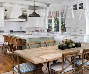 kitchen, interior, and farmhouse style image