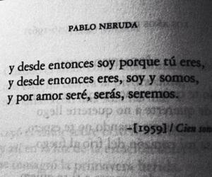 pablo neruda, love, and book image