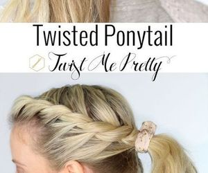 school, back to school hairstyles, and outfits for school image