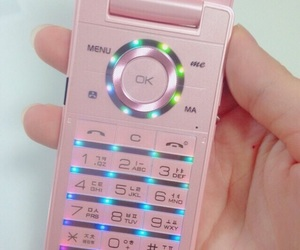 pink, aesthetic, and phone image