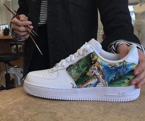 nike, art, and painting image