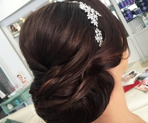 hair, تسريحة, and شعر image