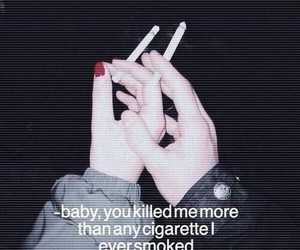 cigarette and smoke image