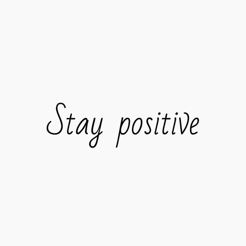 positive, quotes, and stay image