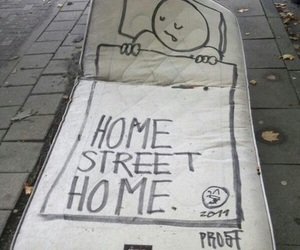 street, home, and bed image