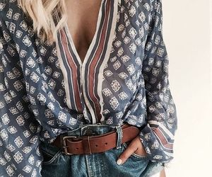 fashion, outfit, and boho image