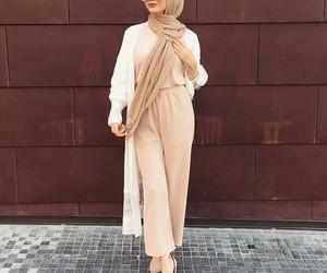 hijab, beauty, and fashion image