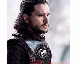 black, Hot, and jon snow image