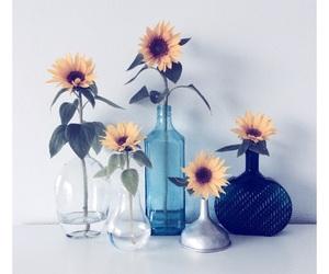 beautiful, blue, and bottle image