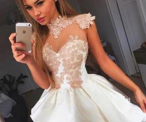 dress and white homecoming dresses image