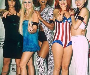 90s, spice girls, and super smokin' hot legs image