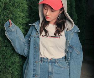 korean girl, model, and park sora image