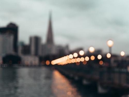 light, city, and inspiration image