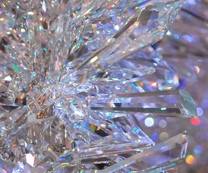 wallpaper, crystal, and diamonds image