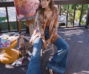 60s, outfit, and anna image