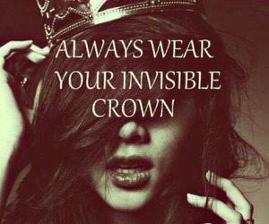 crown, quotes, and princess image