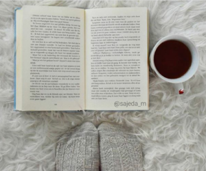 book, cozy, and fashion image