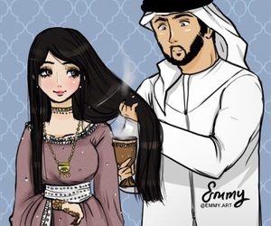 arabic, cartoon, and eid image