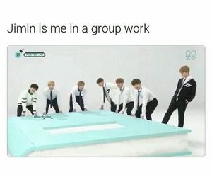 funny, jin, and kpop image