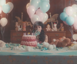 pity party, melanie martinez, and cry baby image