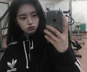 adidas, asian, and iphone image