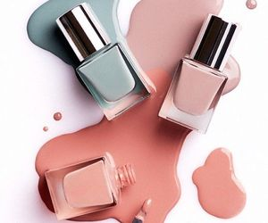 nails, color, and fashion image