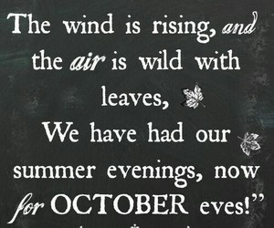 october, autumn, and quotes image