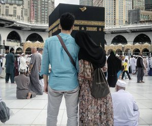 couple, islam, and muslim image