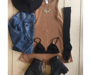 autumn, fashion, and clothes image