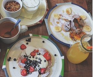 brunch, food, and FRUiTS image
