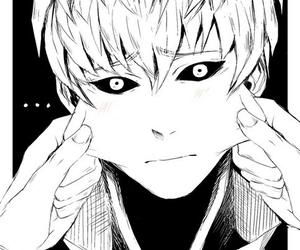 genos, manga, and saitama image