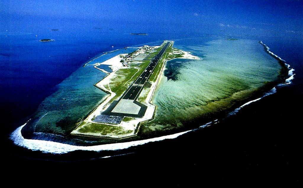 airport, Island, and paradise image
