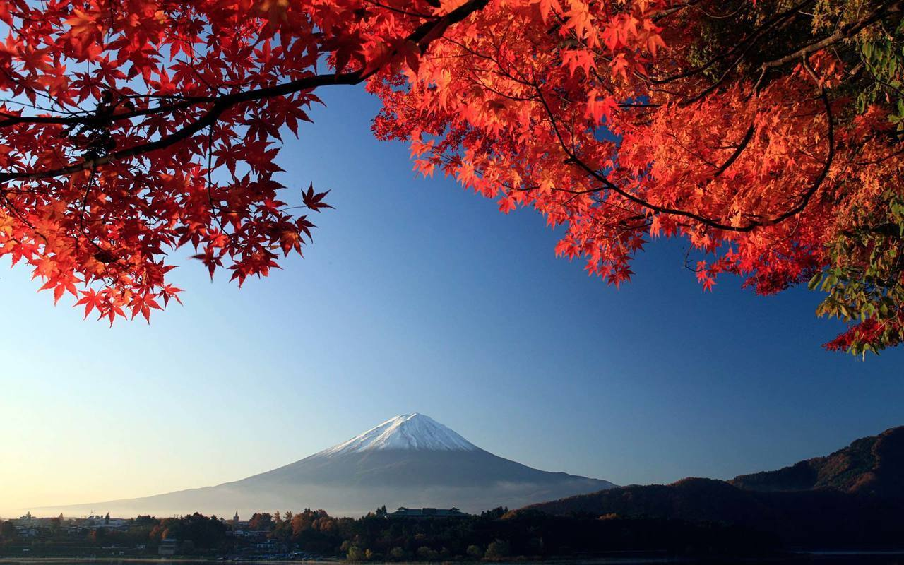 japan, mountains, and fuji image