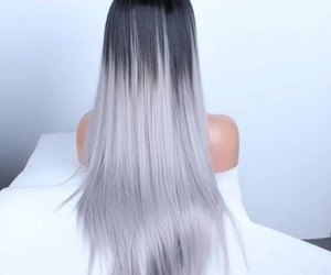 hairstyle, tumblr, and colorful image